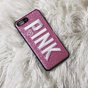 Glitter Pink (Victoria Secret) Phone Case
